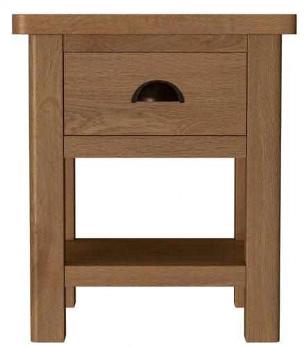 Richmond Rustic Oak Lamp Table